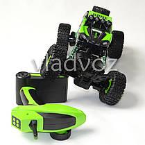 Джип на радио управлении машинка внедорожник модель Bone Rock Crawler зелёный 1:16, фото 3