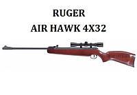 Пневматическая винтовка Ruger Air Hawk 4x32, фото 1