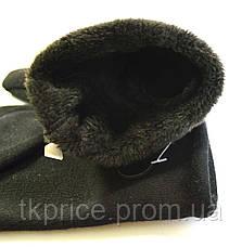 Длинные женские перчатки с сенсорными пальчиками, длина перчаток около 45см, фото 2