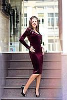 Вечернее платье женское из дорогого бархата