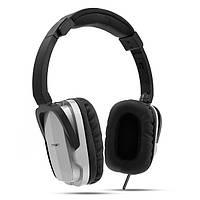 Наушники Crown CMH-955 с микрофоном для ПК серебро (CMH-955 Silver)