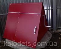 Домик для колодца цветной Красный