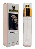 Женский мини-парфюм с феромонами Narciso Rodriguez For Her Eau de Toilette (Нарциссо Родригес ) черный,45 мл