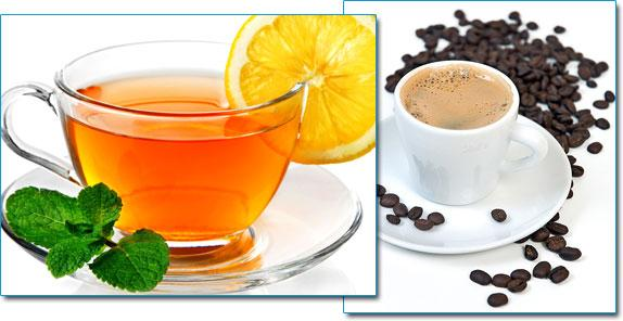 Чай и капучино