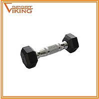 Гантель для фитнеса металл/пластик 1 кг