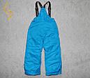 Штаны детские лыжные на подтяжках GLO-STORY 92/98-128 Р.Р., фото 2