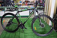 "Велосипед Cronus Diesel X4 29"" черно-зеленый"