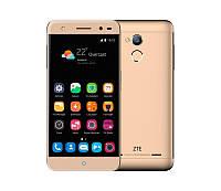 Смартфон ZTE Blade V7 Gold, 2 Nano-Sim, сенсорный емкостный 5,2' (1920х1080) IPS, MediaTek MT6735P (1.3GHz), RAM 2Gb, ROM 16Gb (до 128GB), GPS, Wi-Fi,