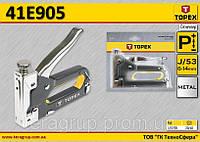Степлер механический TOPEX  41E905
