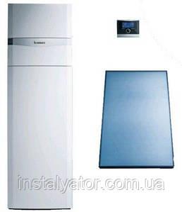Солнечная система Vaillant auroCOMPACT VSC D 306/4-5 190 (с бойлером 190л, конденсационный газовый котел)