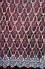 Гардинное полотно вышивка на Французском вуале 280 см, фото 2