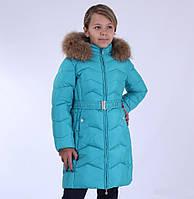 Пальто Snow Image 604P зимнее для девочки 110-134