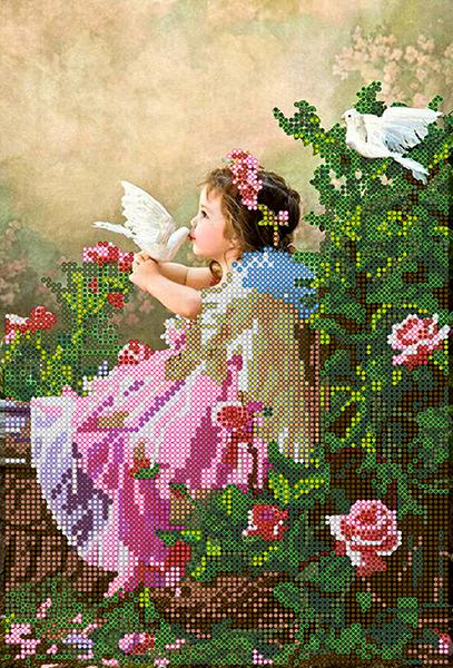 Поцелуй ангела схема вышивка