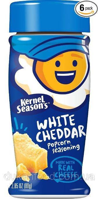 Белый ЧЕДДЕР  Kernel Season's - натуральная приправа 2 кКал