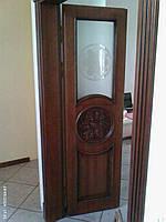Межкомнатные двери.двери со вставкой из стекла.стеклянные двери