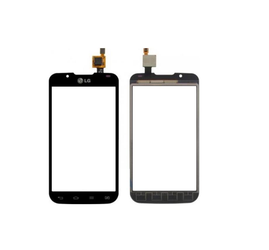 Тачскрин.сенсор для LG P715 Optimus L7 II Dual чрный