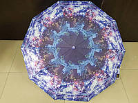 Женский зонтик полуавтомат Feeling Rain (524-2) города на 10 спиц