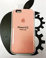 Чехол Silicone Case iPhone 6/6S  СВЕТЛО-РОЗОВЫЙ