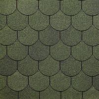 DOCKE SIMPLE Кольчуга зеленый Битумная черепица (3,1 м2/уп)