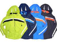 Лыжные подростковые куртки для мальчиков 2 в 1 (КУРТКА +ФЛИСОВАЯ КОФТА) Glo-story 134,140,146,152,158,164р. , фото 1