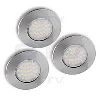 Комплект светодиодных светильников BARRI PLUS GTV (3 шт)