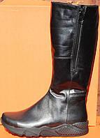 Сапоги женские зимние на низком ходу, зимняя женская обувь от производителя модель НС5-спорт
