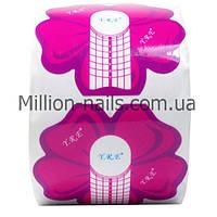 Форма для наращивания ногтей, узкая.300 штук в упаковке