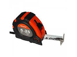 3100102 Рулетка 5мх25мм 2х сторонняя шкала и зацеп, магнит Sturm!