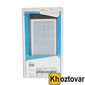 Внешний аккумулятор с фонариком Power Bank 9174 30000 mAh | Повербанк