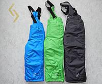 Штаны лыжные для мальчиков на подтяжках GLO-STORY 134/140-170 Р.Р.