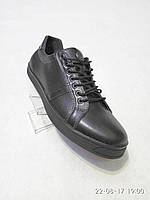 Туфли мужские черные Samas кожа, фото 1
