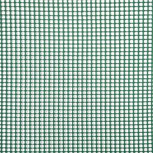 Сетка для растений, 0,5x5 м, квадратная, рулон, цвет-зеленый, 5 мм отверстия, фото 2