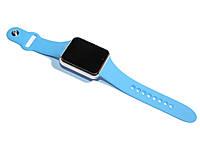 Умные часы SmartWatch A1 Blue, цветной сенсорный экран 1.54', совместимость iOS/Android, Bluetooth 3.0, шагомер, отслеживание сна, уведомления о