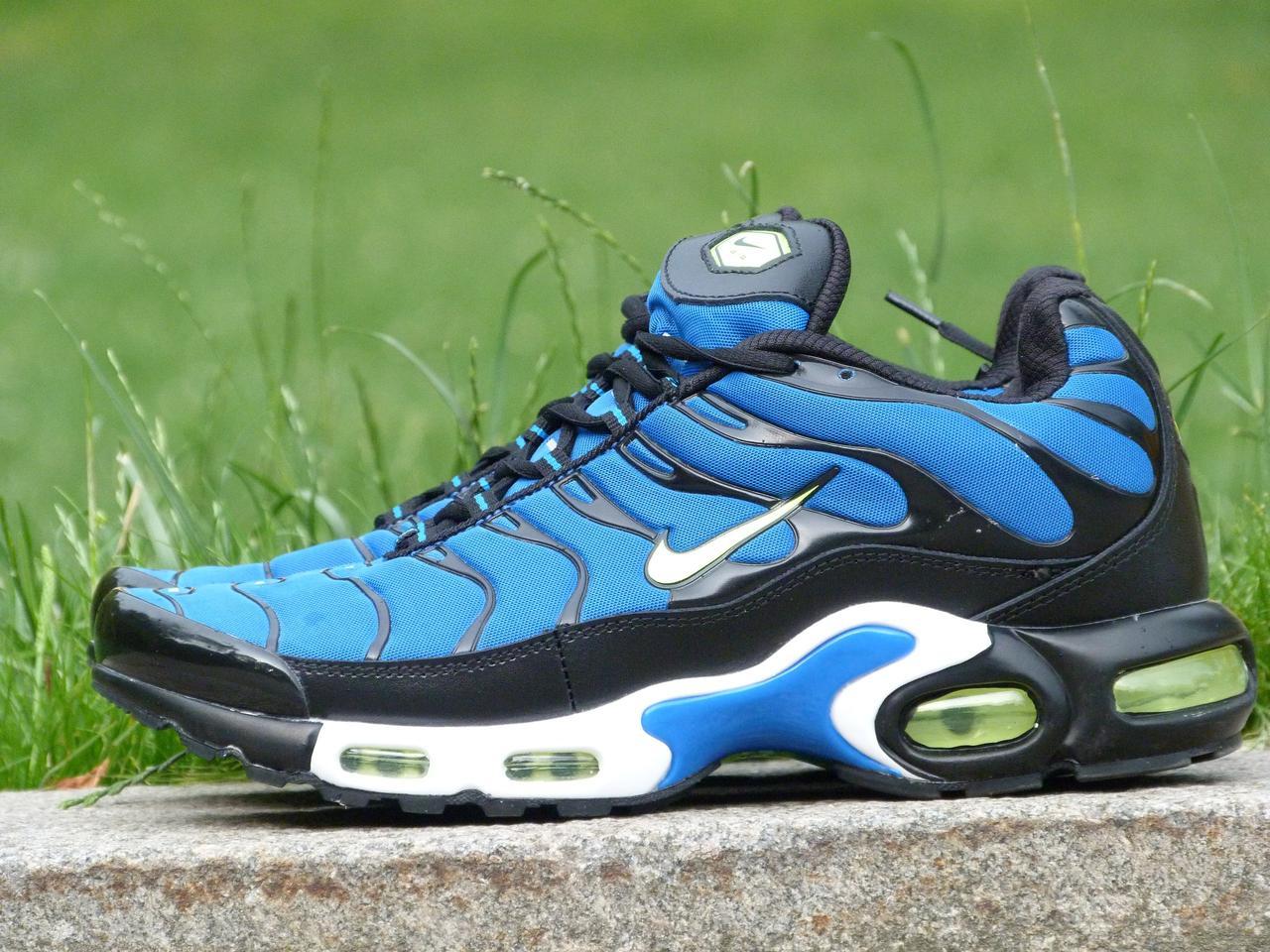 Кроссовки мужские Nike Air Max Nike Tn+ Blue топ реплика