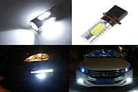DRL ДХО LED лампы диодные P13W с линзой