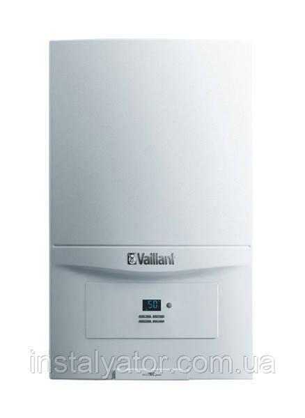 Котел газовый, настенный, конденсационный Vaillant ecoTEC plus VU INT IV 166/246/306/386/5-5 H (1-контурный)