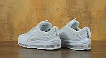 Кроссовки мужские Nike Air Max 97 White топ реплика, фото 2