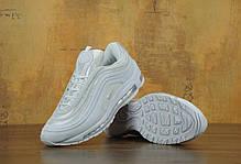 Кроссовки мужские Nike Air Max 97 White топ реплика, фото 3