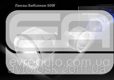 Біксенонові лінзи Infolight Mini 2.5 дюйма