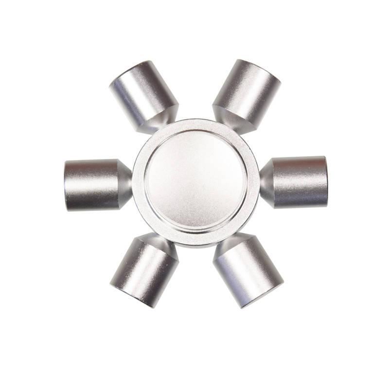 Spinner Спиннер металлический MT-1, Серебристый