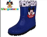 Резиновые сапоги рр 26-30 Disney