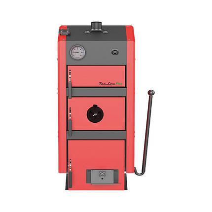 Котел твердотопливный METAL-FACH RED LINE PLUS 25 кВт (240м.кв), фото 2