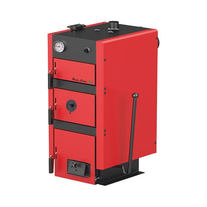 Котел твердотопливный METAL-FACH RED LINE PLUS 25 кВт (240м.кв)