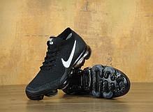 Мужские кроссовки Nike Vapor Max черные топ реплика, фото 3