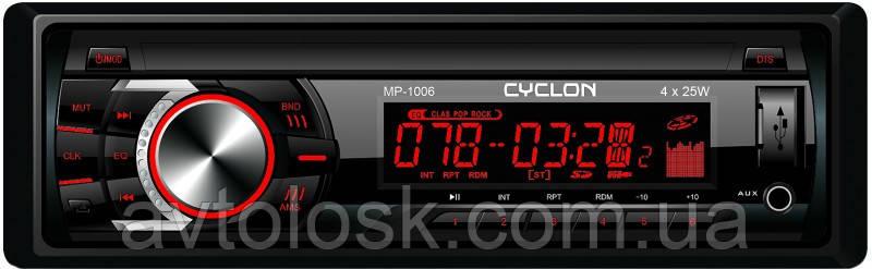 Автомагнитола CYCLON MP-1006R