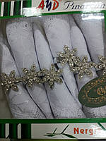 Салфетки с кольцами 6 шт