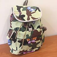 Рюкзак городской женский Камуфляжный
