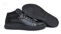 Мужские зимние кожаные ботинки Tommy Hilfiger НА МЕХУ в наличии. РАЗМЕР 45