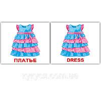 Комплект карточек «Одежда/Clothes» МИНИ 40, фото 1