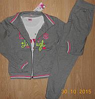 Спортивные  трикотажные костюмы-тройки для девочек, 152, 158
